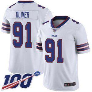 Buffalo Bills Ed Oliver 100th Season Jersey 1